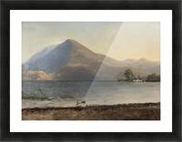 Bierstadt - On the Hudson Picture Frame print