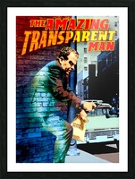 The Amazing Transparent Man 1960 Poster 1 Picture Frame print