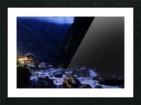 Machu Picchu Pueblo Impression et Cadre photo