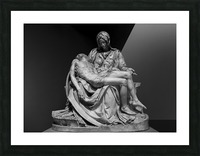 Pieta by Michelangelo Picture Frame print