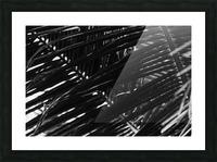 Dark Lines Picture Frame print
