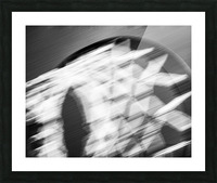 Hoop to the Sky Picture Frame print