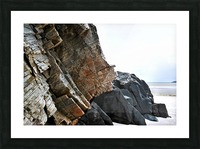 Rock Formations - Maghera Beach 6 Picture Frame print