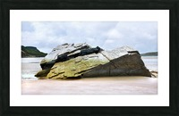 Rock Formations - Maghera Beach Picture Frame print