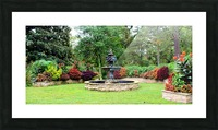 Crescent Gardens Picture Frame print