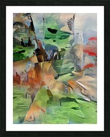 Imaginary World Picture Frame print