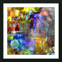 Modern Trendy Abstract Art Picture Frame print