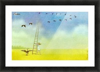 summer s end Picture Frame print