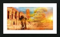 Ancient Origins Picture Frame print