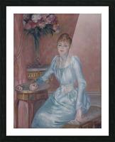 Portrait of Madame de Bonnieres Picture Frame print