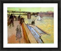 Bridge by Van Gogh Picture Frame print