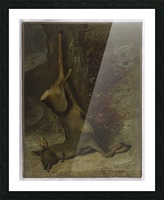 Le chevreuil Picture Frame print
