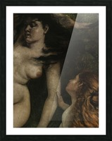 Trois baigneuses Picture Frame print