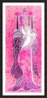 RÚ--in Hot Pink Picture Frame print