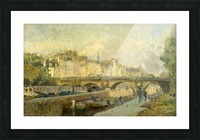 Le Pont Neuf Picture Frame print