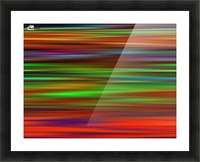 Colorful Lines Picture Frame print
