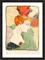 Bust portrait by Toulouse-Lautrec Picture Frame print