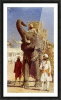The Rajahs Elephant Picture Frame print