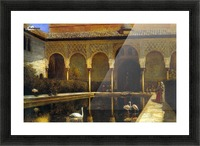 A Court in the Alhambra Picture Frame print