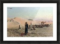 Desert Prayer Picture Frame print