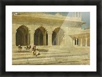 Bath inside palace Picture Frame print