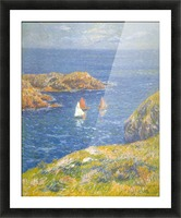 Calm Seas by Moret Picture Frame print