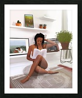 Self Love Picture Frame print