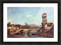 Capriccio Veneto by Canaletto Picture Frame print
