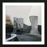 Mahee Castle Picture Frame print