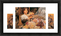 The Rose girls by Hassam Picture Frame print