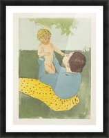 Cassatt - Under the Chestnut Tree Picture Frame print