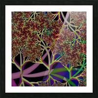 Fractal_Vegetation_Theme Picture Frame print
