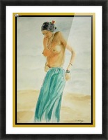 Facing the Sun for Fecundity Picture Frame print
