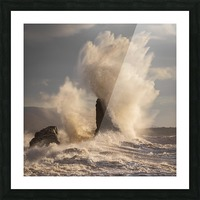Storm at Presquile Picture Frame print