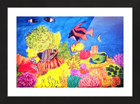 Under the Sea Picture Frame print