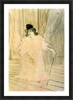 Cecy Loftus by Toulouse-Lautrec Picture Frame print