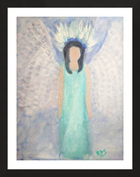 Belonging to the Angels Picture Frame print