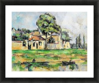 Cezanne - Banks of the Marne Picture Frame print