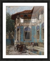 Damascus Picture Frame print