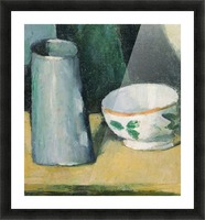 Cezanne - Bowl and Milk Jug Picture Frame print
