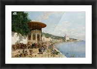 Market Day in Constantinople Picture Frame print