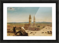 Oriental landscape Picture Frame print