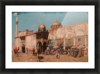 Mosque Picture Frame print