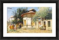 The Watermelon Merchant Picture Frame print