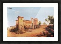 Castello di Felino Picture Frame print