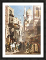 Al-Khudayri street, Cairo Picture Frame print
