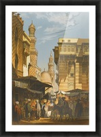Market in Istanbul Picture Frame print