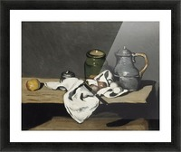 Cezanne - Still life with kettle Picture Frame print