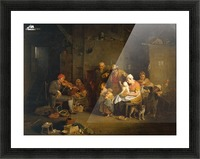 Blind Fiddler Picture Frame print