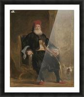 His Highness Muhemed Ali, Pacha of Egypt Picture Frame print